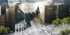 Artist rendering of the National Music Centre