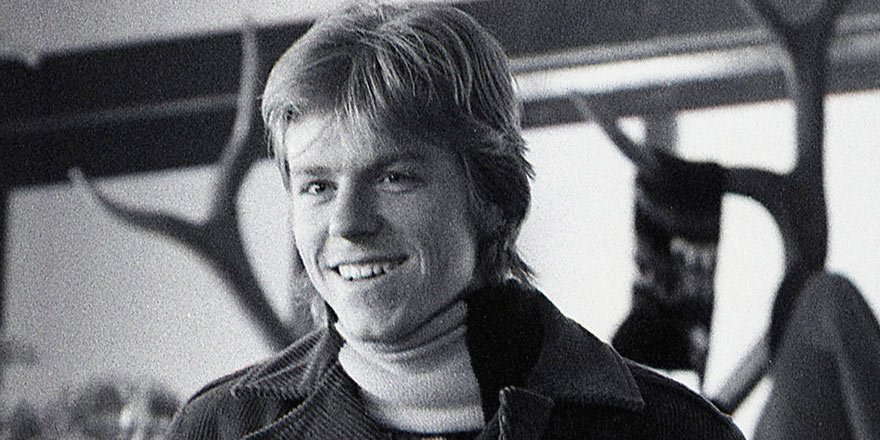 Photo of a young Rolf Kempf