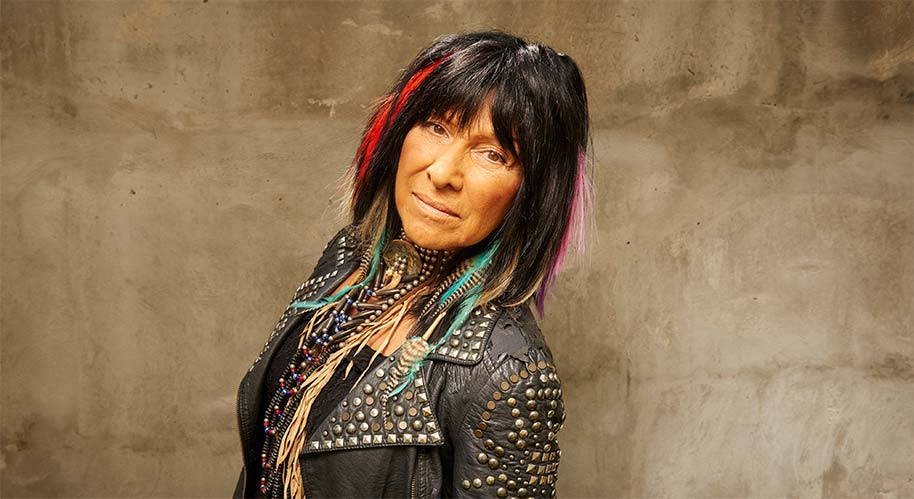 Press Photo of Buffy Sainte-Marie