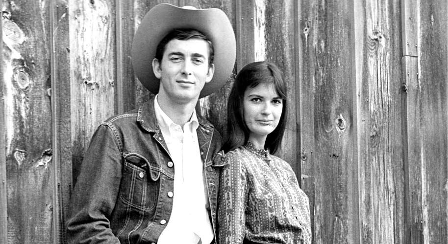 Vintage photo of Ian & Sylvia Tyson