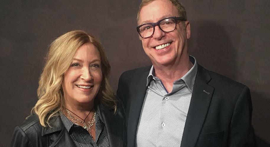 Photo of Francine Raymond and Christian Peloquin